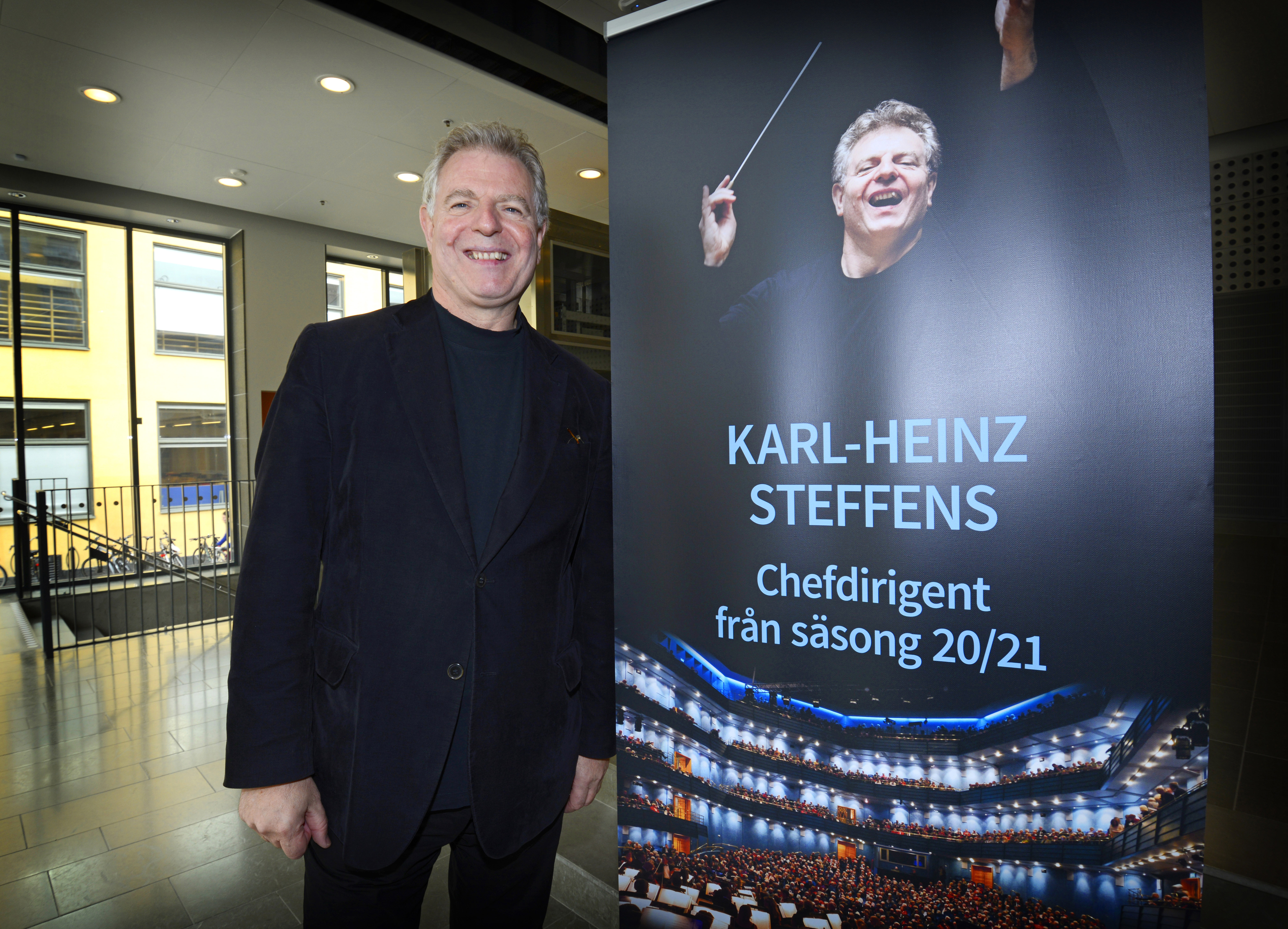 Karl-Heinz Steffens new Principal Conductor and Artistic Advisor at SON